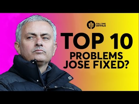 TEN PROBLEMS FIXED? Jose Mourinho at Manchester United