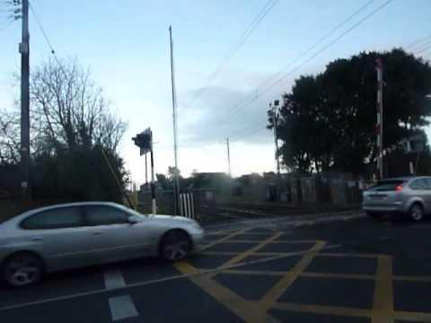 VERY RARE - Baldoyle Road level crossing is broken.