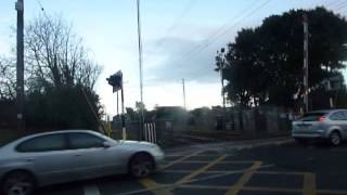 VERY RARE - Baldoyle Road level crossing is broken.