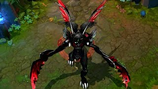HD - League of Legends Custom Skin Preview Deep Void Khazix!