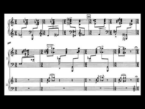 Igor Stravinsky - Piano Concerto [Concerto for piano and wind instruments] [With score]