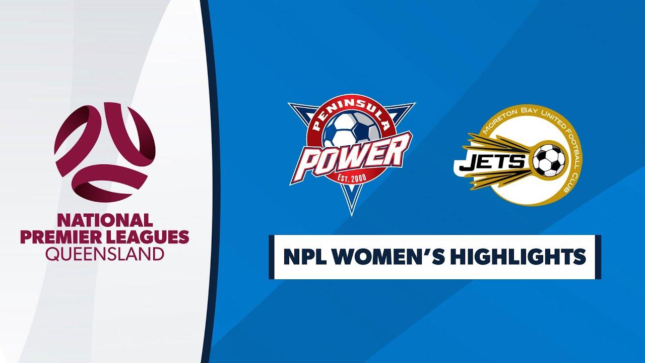 NPL Women's R8 - Peninsula Power vs. Moreton Bay United Highlights