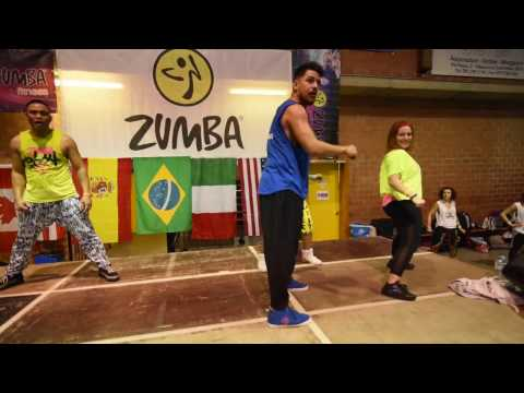 Official Video William Flores Zumba® Masterclass Bologna Italy