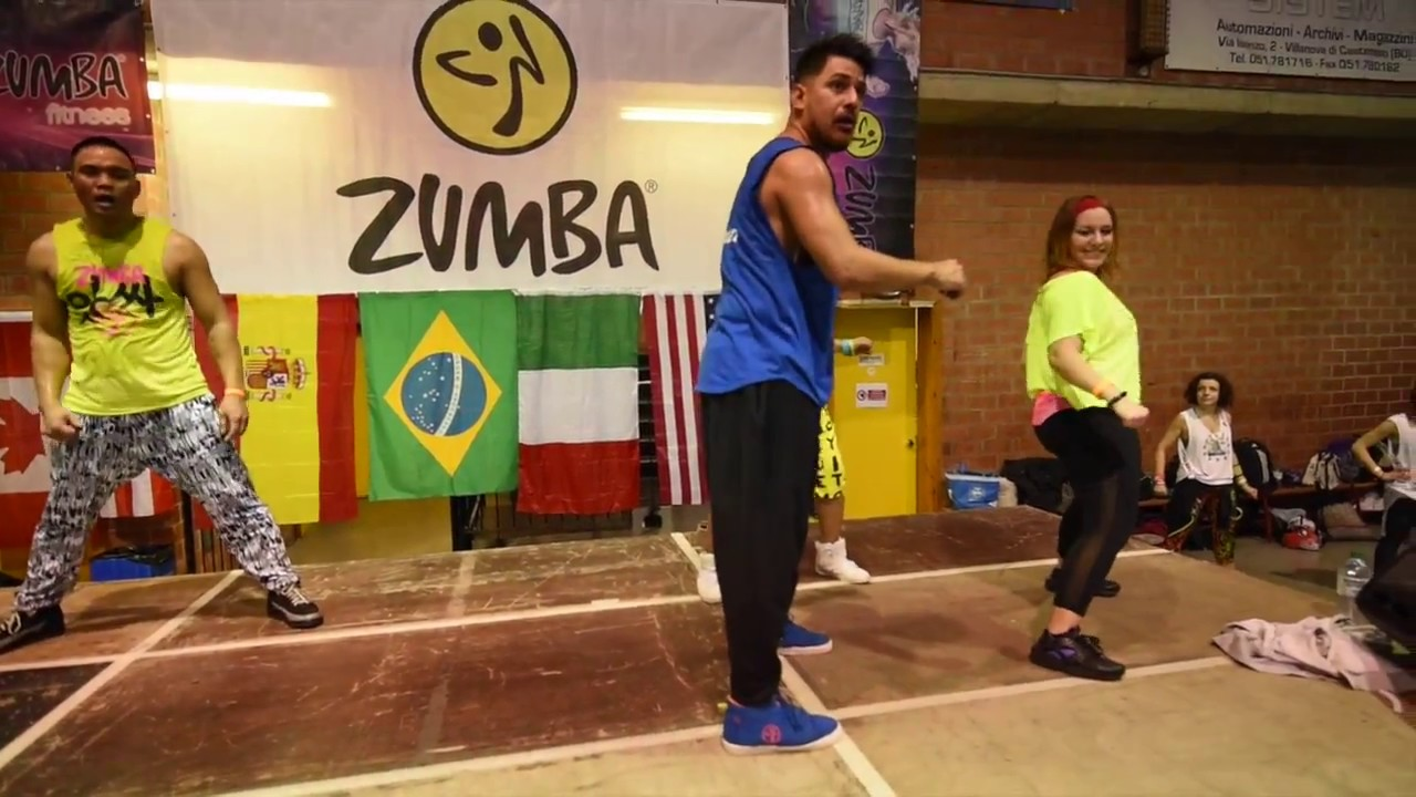 Official Video William Flores Zumba® Masterclass Bologna ...