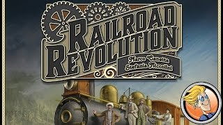 Railroad Revolution — game overview at SPIEL by designers Canetta & Niccolini