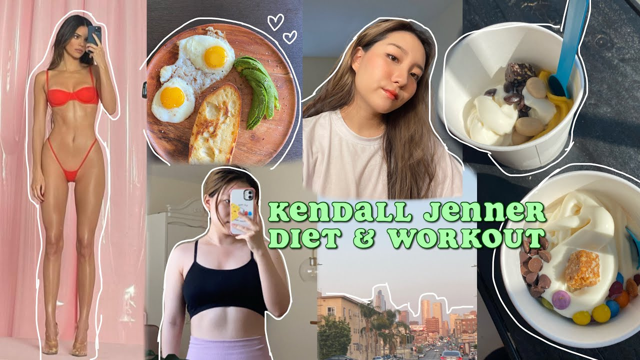 i tried kendall jenner's diet and workout for 3 days
