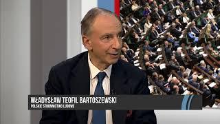 W. TEOFIL BARTOSZEWSKI - POLACY OCZEKUJĄ WSPÓŁPRACY W SEJMIE DLA DOBRA KRAJU