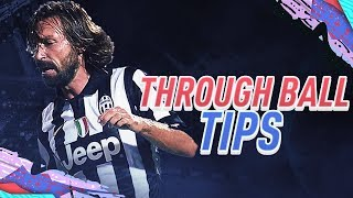 FIFA 20 CHIP THROUGH BALL TUTORIAL ** PASSING GUIDE & TIPS