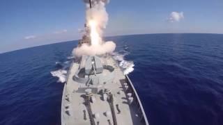 Корабли ВМФ России нанесли ракетный удар по ИГИЛ в Сирии