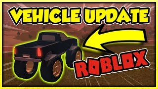 THE NEW ROBLOX JAILBREAK UPDATE! (MONSTER TRUCK, FERRARI, MUSTANG LOCATION)