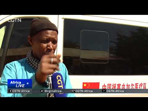 Chinese medics provide free healthcare services in Dakar