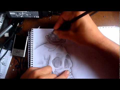 Dibujo A Lapiz Calaveralxo Tegnic Produccion Youtube