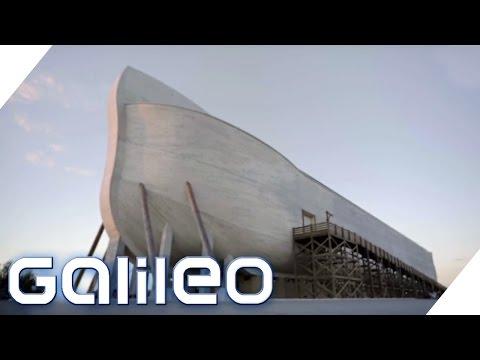 100 Millionen Dollar teure Arche der Kreationisten - Was soll das? | Galileo | ProSieben