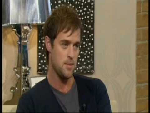 Jonas Armstrong on This Morning 1st May 2009