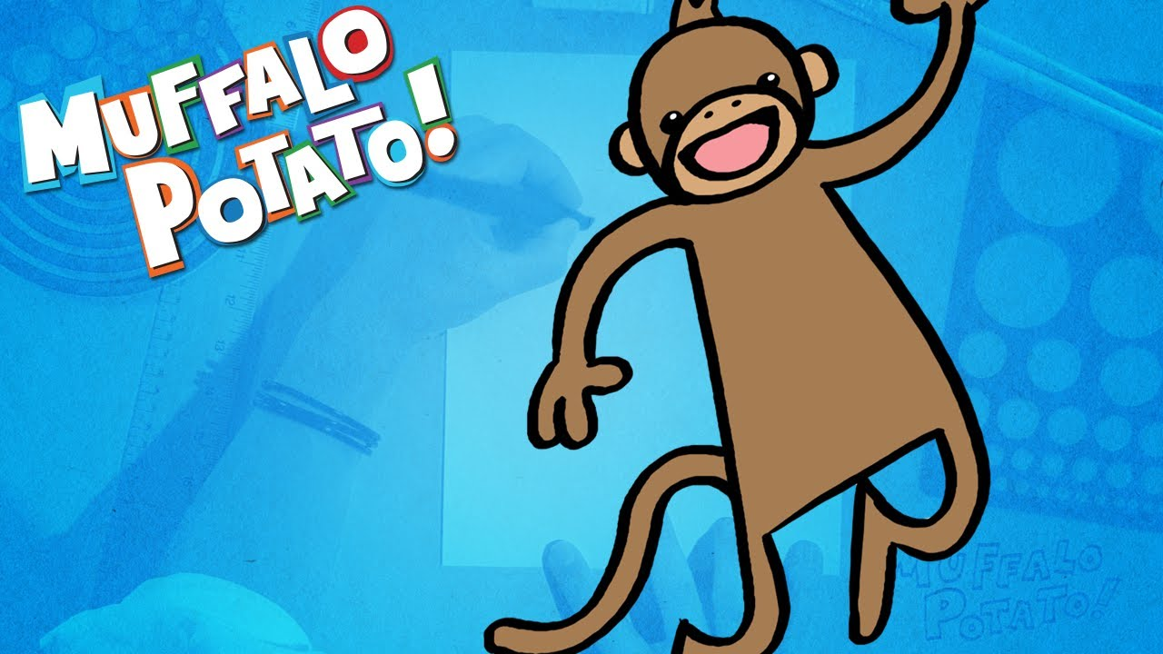 015 - How to draw a Kangaroo for kids - step by step drawing by ...