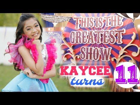 KAYCEE'S 11th BIRTHDAY The GREATEST SHOWMAN Triple Celebration Mp3