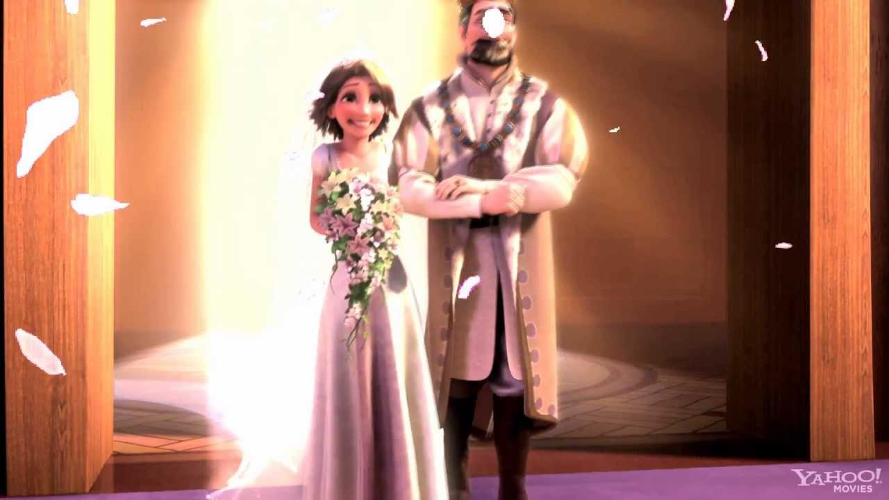 Rapunzel eugene all i ask of you wedding for Wedding dresses eugene oregon