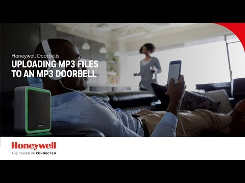 Uploading MP3 files to your MP3 doorbell | Doorbells | Honeywell Home