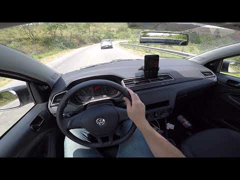 VW SAVEIRO ROBUST 1.6 2019 ACELERANDO NA ESTRADA DOS ROMEIROS | TEST DRIVE ONBOARD