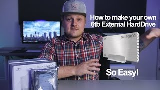Content creators running out of Storage? Build your own External Hard Drive. -in 4k