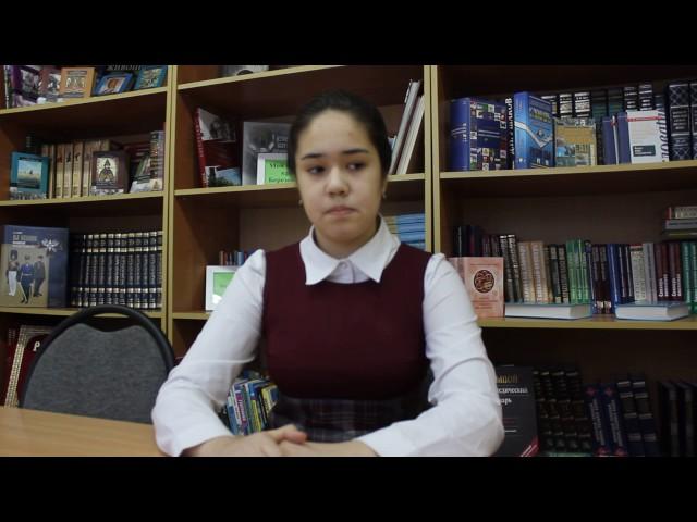 Изображение предпросмотра прочтения – «Новинcкая школа» читают произведение «9 января» В.В.Маяковского