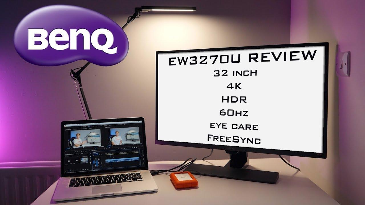 BenQ EW3270U REVIEW - the ULTIMATE 32