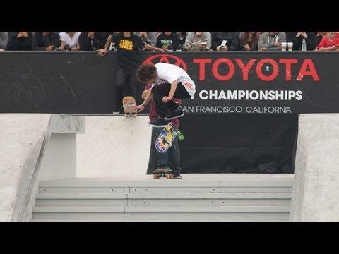 Skate Street Final Jam Session Dew Tour 2012 - Nyjah, Pudwill, P-Rod, Martinez, Gustavo