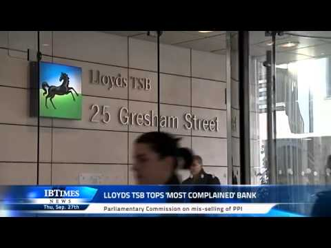 Lloyds TSB Tops 'Most Complained' Bank