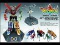 Toynami 30th Anniversary Voltron Collector's set diecast robot review