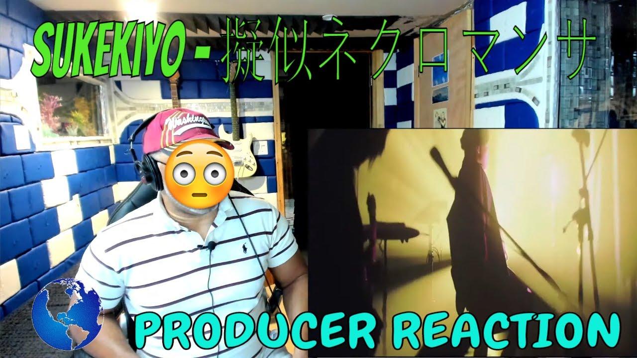 sukekiyo   擬似ネクロマンサー eng sub LIVE HD - Producer Reaction