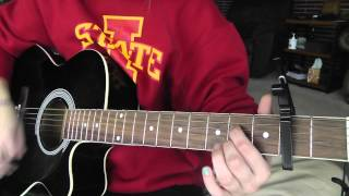 How to Play Remembering Sunday on guitar