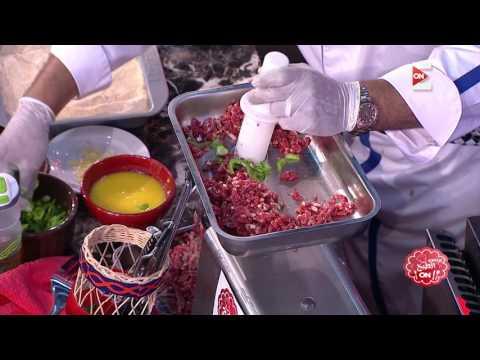 برنس الطبخ - ناصر البرنس يشرح طريقة عمل الكفتة البانيه  - 17:21-2017 / 5 / 27
