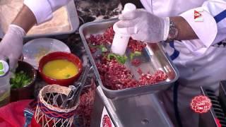 برنس الطبخ - ناصر البرنس يشرح طريقة عمل الكفتة البانيه