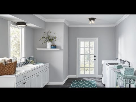 Laundry Room Lighting Ideas Home Depot Bright Lights For Small Laundry Ceiling Diy Youtube