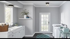 🔝 Laundry Room Lighting Ideas | Home Depot Bright Lights For Small Laundry Ceiling DIY