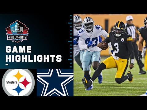 Pittsburgh Steelers vs. Dallas Cowboys | 2021 Full Hall of Fame Game Highlights
