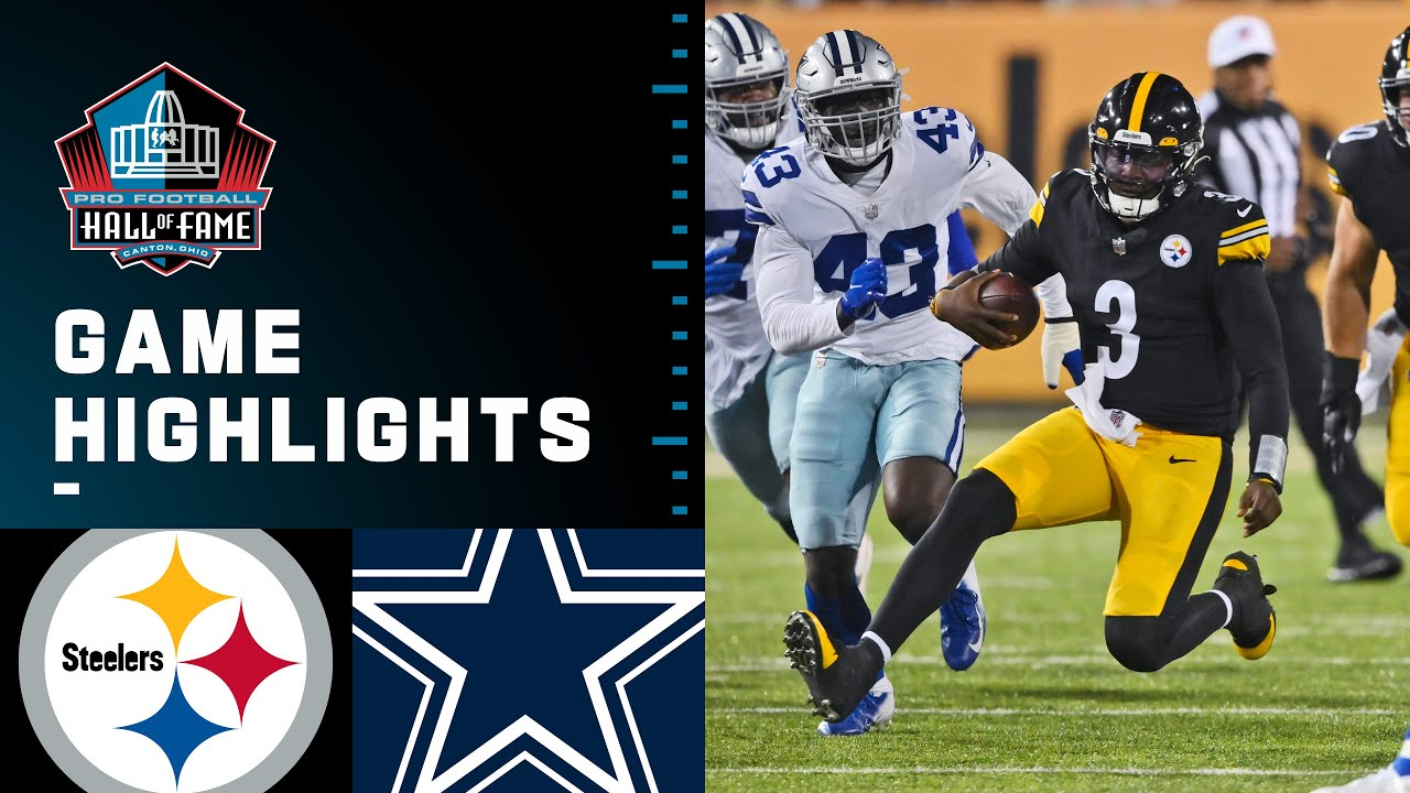 Download Pittsburgh Steelers vs. Dallas Cowboys   2021 Full Hall of Fame Game Highlights