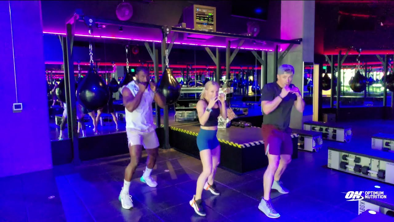 Combat Boxing Workout with RowdyBox