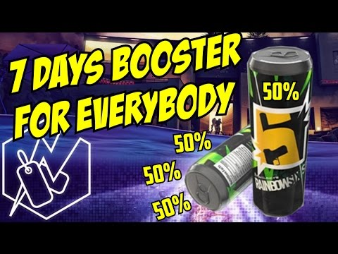 Rainbow Six Siege FREE BOOSTERS FOR EVERYBODY! & Welcome UbiGabe Renown Fast