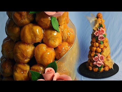 Apricot Croquembouche Tutorial - Sample