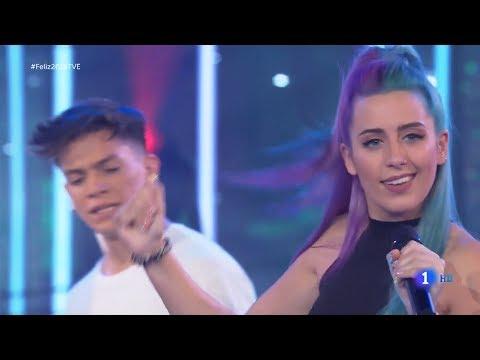 Sweet California ~ Loca (Especial NocheVieja Fin de Año, tve) (Live) 2018 HD 4K