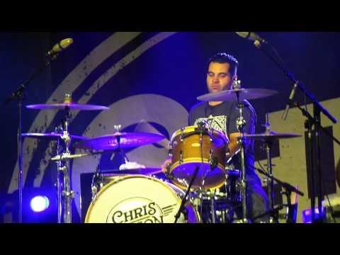 Chris janson on drums
