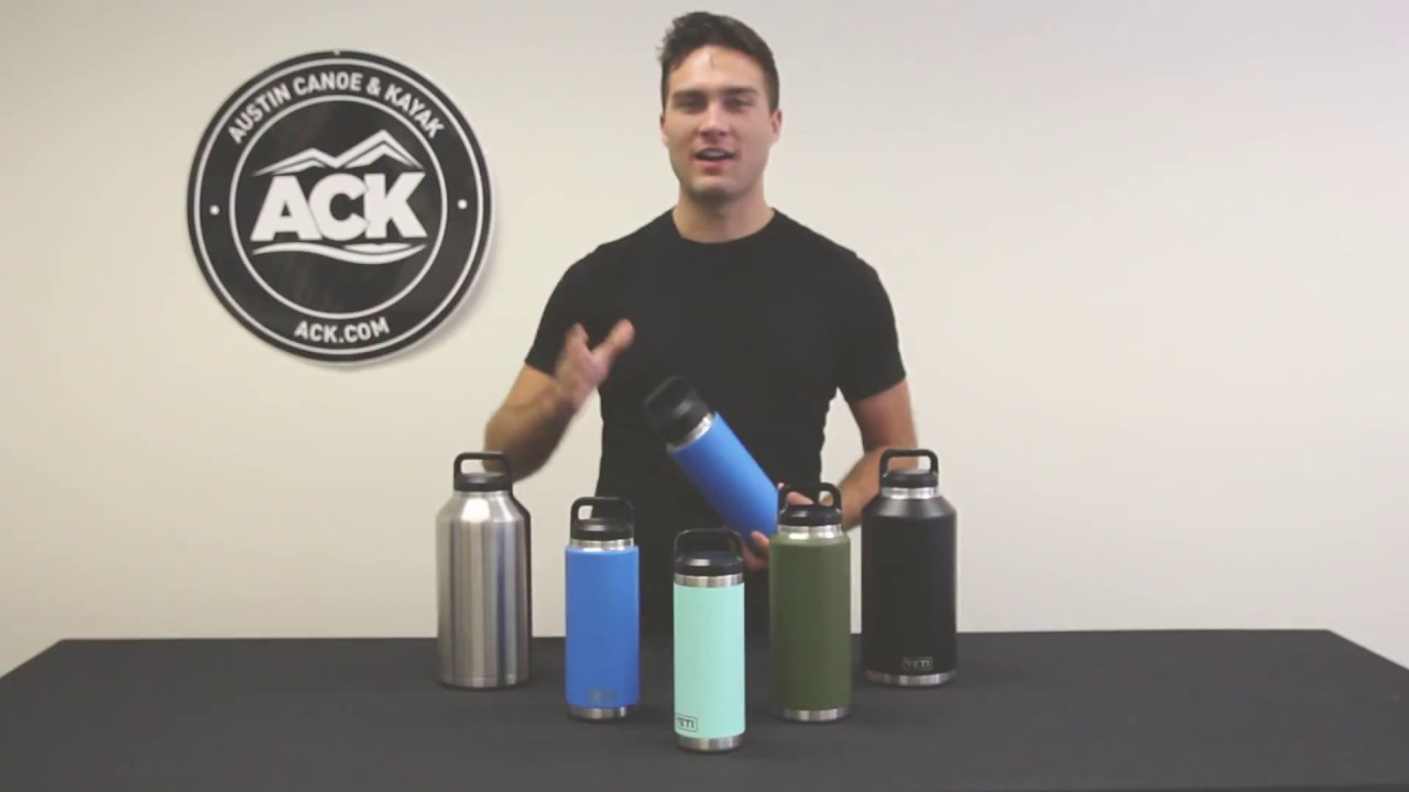 Yeti Rambler Bottles And Accessories Youtube
