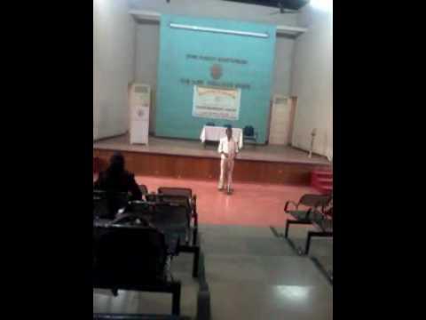 Vaibhav Sonone at ILS Law College Pune