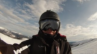 GoPro 3 Ski Alps mountains 2015