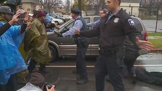 MPD Remove Protesters From 4th Precinct Building