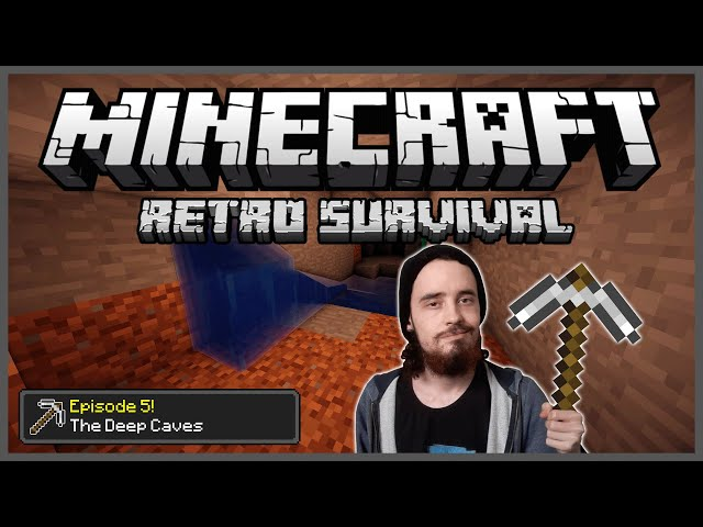 Minecraft: Retro Survival Let's Play [5] - The Deep Caves!