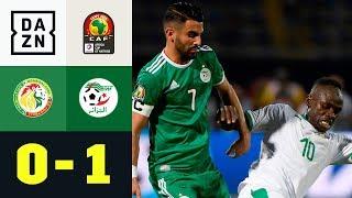 Riyad Mahrez sticht Sadio Mane aus: Senegal - Algerien 0:1 | Afrika-Cup | Highlights | DAZN