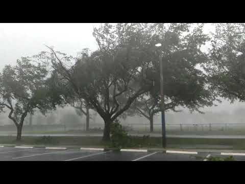Hurricane Irma in Deerfield Beach, Florida!