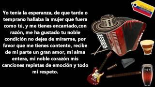 Diomedes Diaz  - Te quiero mucho (Letra)